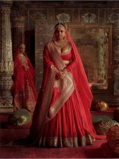 Check all sabyasachi beautiful new winter bridal collection here. These winter bridal collection includes devi, chowk, nargis and isfahan etc. Designer Bridal Lehenga, Indian Bridal Lehenga, Indian Bridal Fashion, Indian Bridal Wear, Bridal Dupatta, Indian Wear, Sabyasachi Collection, Bridal Lehenga Collection, Indian Dresses