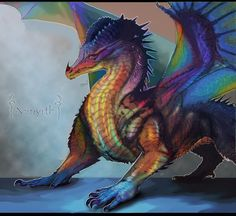 Dragon Of Opal by Decadia on DeviantArt