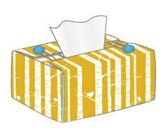 Kirin&Co's Tutorial Factory - Tissue box cover pattern & tutorial