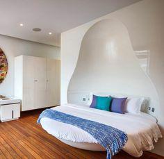Diseño de dormitorio inspirado de cultura rusa