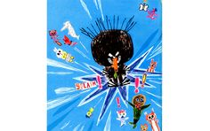 "Björn F Rörvik (text) & Gry Moursund (bild): ""Bockarna Bruse på badhuset"" - DN. Ferris Wheel, Watercolor, Illustration, Pictures, Pen And Wash, Watercolor Painting, Watercolour, Illustrations, Watercolors"