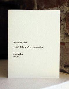 dear coke