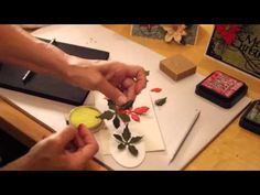Elizabeth Craft Designs Susans Garden Club Garden Notes Queen Anne's Lace - YouTube