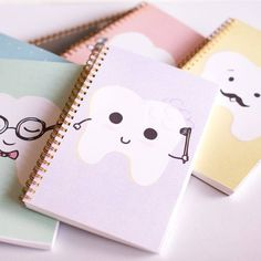 Just in time for back to school! How cute are these notebooks? Which one is your favourite?