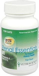 Renal Essentials to support kidney health by Vetri-Science recommended by Dr. Caviness for Serena in 2013