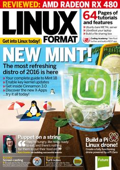 #Linux Format 214. New #Mint! Linux Mint, Coding Academy, Uk Summer, Apps, Thought Provoking, Learning, Digital, Programming, Software