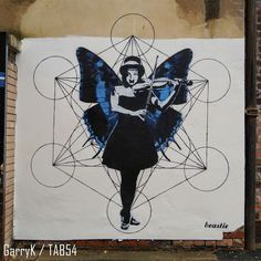 Urban Art a la cARTe: Street Art by Beastie (23) Art Uk, Gloucester, Urban Art, Street Art, Cards, City Art