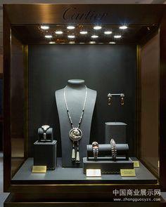 Unique Cartier Show3 Jewellery Shop Design, Jewellery Showroom, Jewellery Display, Jewelry Shop, Jewelry Stores, Diy Jewellery, Jewellery Storage, Rolex Shop, Boutique Accessoires