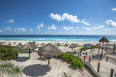 It's all about white sand beaches in #Cancun. #pickyourparadise