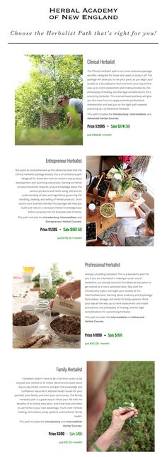 There are many ways to practice as an herbalist. You may strive to become a community herbalist –the one that people seek out when they have questions about how to use herbs in support of illness. Maybe you prefer to stay a little closer to home where you can put your herbal knowledge to good use by helping family and friends. You may choose to be a grower. Maybe your heart is leading you to open an herb shop, develop a natural product line, or become an herbal practitioner.