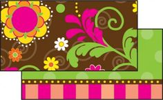 Hot Chocolate Double-Sided Border