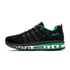 df6cecdcab Novos Homens Air Running Shoes para Mulheres Marca de Malha Respirável Tênis  Para Caminhada Atlético Esportes