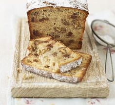 Paul Hollywood shares his banana bread recipe - this delicious bake is dotted with chocolate and nuts