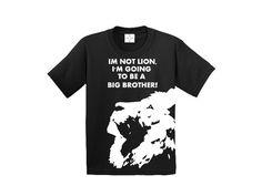 Big brother lion shirt
