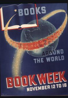 Official Children's Book Week poster, 1939, Ralph Bell Fuller (Dates Unknown)