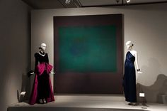 """Untitled (Green on Maroon)"" Mark Rothko Exposición Hubert de Givenchy. Museo Thyssen Bornemisza de Madrid. #Arte #Arterecord 2014"