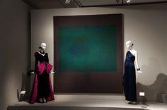 """Untitled (Green on Maroon)"" Mark Rothko Exposición Hubert de Givenchy. Museo Thyssen Bornemisza de Madrid. #Arte #Arterecord 2014"