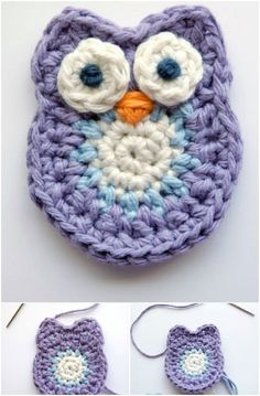 Crochet a cute owl