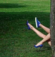 Kloe 100 - Open toe pump in blue alligator & Koto - Sneaker in blue alligator and calfskin French Luxury Brands, Shoes Editorial, Hermes Shoes, Hermes Online, Baggage, On Set, Open Toe, Ready To Wear, Fashion Accessories