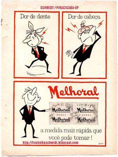 PROPAGANDA ANTIGA - MELHORAL