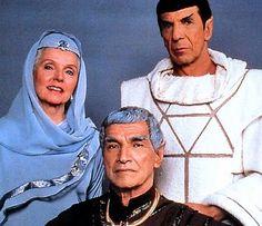 Amanda, Spock & Sarek (Stock photo) from 'Star Trek IV - The Voyage Home'