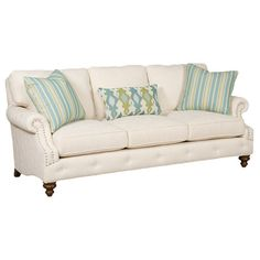 Offer guests a comfortable seat with this stylish essential, brimming with beach-chic appeal for lasting enjoyment.Product: Sofa ...