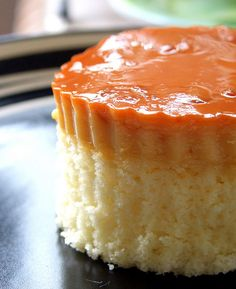 Custard Cake | Leche Flan with chiffon cake as base. | simply anne | Flickr
