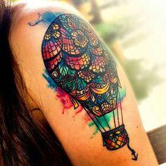Aguarela tattoo