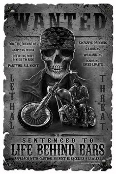 Life Behind Bars Metal Sign 12 X 18 Inches