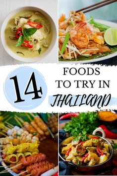 Traveling Thailand? Be sure to try these authentic Thai foods while you're visiting the country! This guide shares the best 14 authentic Thai dishes every traveler needs to experience during their trip to Thailand (PLUS - these are budget friendly!). Budget | Authentic Thai food | authentic | Thai food | Thailand | Street food | Bangkok | Phuket | Chiang Mai | Restaurants | Desserts | Traditional Food Thailand, Thailand Travel, Asia Travel, Solo Travel, Travel Tips, Travel Ideas, Travel Inspiration, Travel Destinations, Krabi