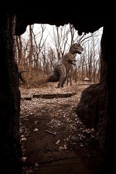 Abandoned Prehistoric Forest Park in Irish Hills area, MI