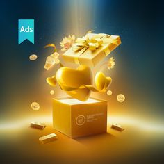 Print advertisement created by Technowireless, Egypt for Bullion Trading Center, within the category: Retail Services. Ads Creative, Creative Posters, Creative Advertising, Advertising Design, Ad Design, Event Design, Promo Gifts, Christmas Ad, L'oréal Paris