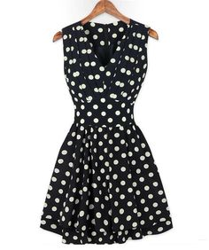 Pleated Retro Dots~