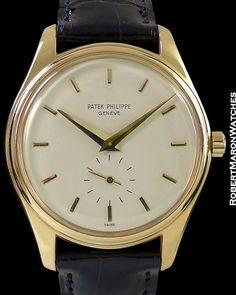 PATEK PHILIPPE 2526 CALATRAVA 18K SCREW BACK AUTOMATIC PATEK...