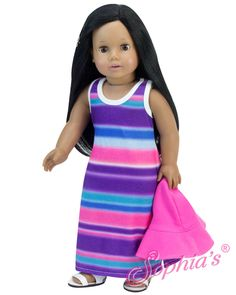 "Doll Storage Tower Swivels In White Wood For 18/"" American Girl Dolls /& Mo Sophia"