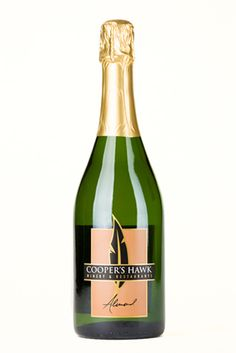 I feel as though this could be really delicious... / Cooper's Hawk Winery Almond Sparkling Wine