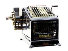 Burroughs Adding and Listing Machine, 1912 ca.