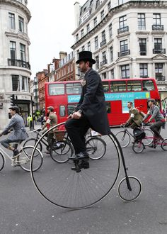 London Tweed Run 2013