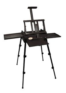 list price $ 249 | sale price $ 124.99 (thru 7/13/12) Joe Miller Signature Field Easel, Black | weighs 10 lbs