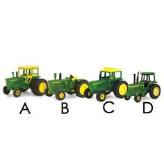 1/64 Vintage Tractor Assortment