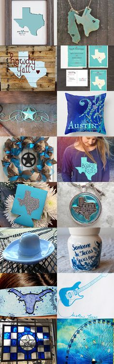 Desert Texas Blues by V. Dotter on Etsy--Pinned with TreasuryPin.com
