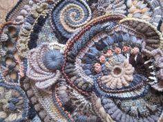 Beautiful frreform crochet by Olga Krivenko http://kryukist.ru