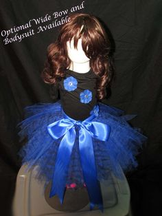 Royal Blue Animal Print Tutu Available in a Variety of Sizes