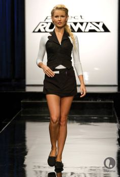 Project Runway Season 11 Episode 2. Spin Out. Create uniforms for the employees of SPiN. Guest Judge: Susan Sarandon. Winner: Layana Aguilar. Loser: James Martinez. http://www.mylifetime.com/shows/project-runway/season-11/episodes/episode-2