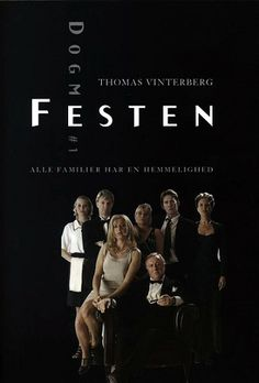 DOGME 95: an avant-garde filmmaking movement started in 1995 by the Danish directors Lars von Trier and Thomas Vinterberg, who preferred simple production values and naturalistic performances. To create filmmaking based on the traditional values of story, acting, and theme, and excluding the use of elaborate special effects or technology. 'Festen' was the first film created under Dogme 95 rules.