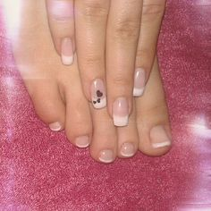 New french nails, manicure & pedicure