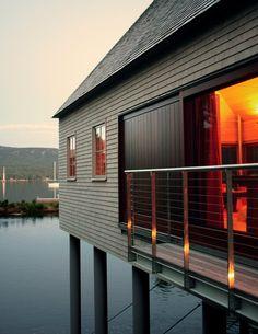 House on a Pond, Somesville, 2010 - Elliott + Elliott Architecture