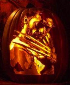 ☆ Wolverine Pumpkin Carving :¦: By Artist Alex Wer ☆