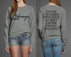 Harry Potter Harry Potter's Butterbeer Fudge Which Female Harry Potter Character Are You? To the harry potter fans Harry Potter Shirts, Harry Potter Film, Pull Harry Potter, Harry Potter Siempre, Immer Harry Potter, Always Harry Potter, Harry Potter Merchandise, Harry Potter Tumblr, Harry Potter Outfits
