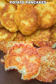 Potato Pancakes - COOKTORIA Healthy Recipes Quick Dinner Ideas Potato Pancakes This Potato Pancakes recipe, requires just a few common ingredients, and I have never met a person who doesn't like them. Healthy Meals For Kids, Quick Easy Meals, Kids Meals, Healthy Recipes, Vegetarian Recipes Videos, Breakfast Recipes, Dinner Recipes, Potato Pancakes, Potato Pancake Recipes